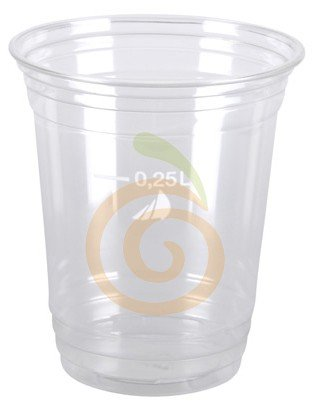 Becher aus PET 250ml