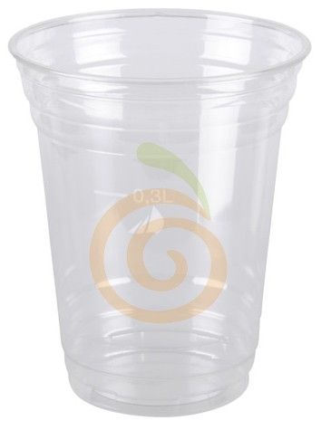Becher aus PET 300ml