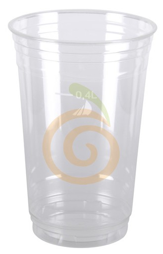 Becher aus PET 400ml