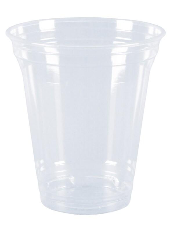Bio-Becher 300ml / 12oz, aus PLA, klar